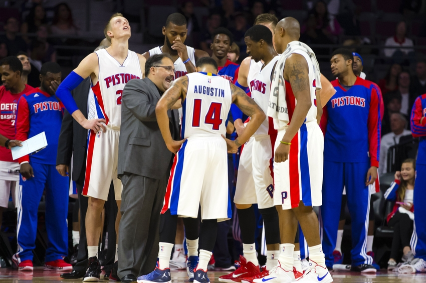Stan Van Gundy Pistons Stan Van Gundy's Pistons Make